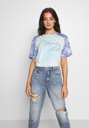 OVERSIZED TEE - T-shirt con stampa - multi