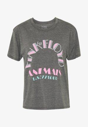 PINK FLOYD JOY TEE - Print T-shirt - gray