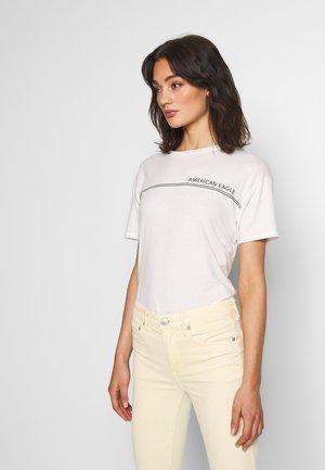BRANDED SANTA MONICA TEE - Print T-shirt - white
