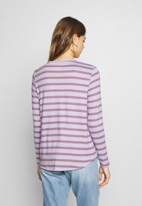 American Eagle - CREW TEE PLUSH - Topper langermet - lively lilac - 2