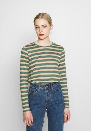 CREW TEE PLUSH - Long sleeved top - green