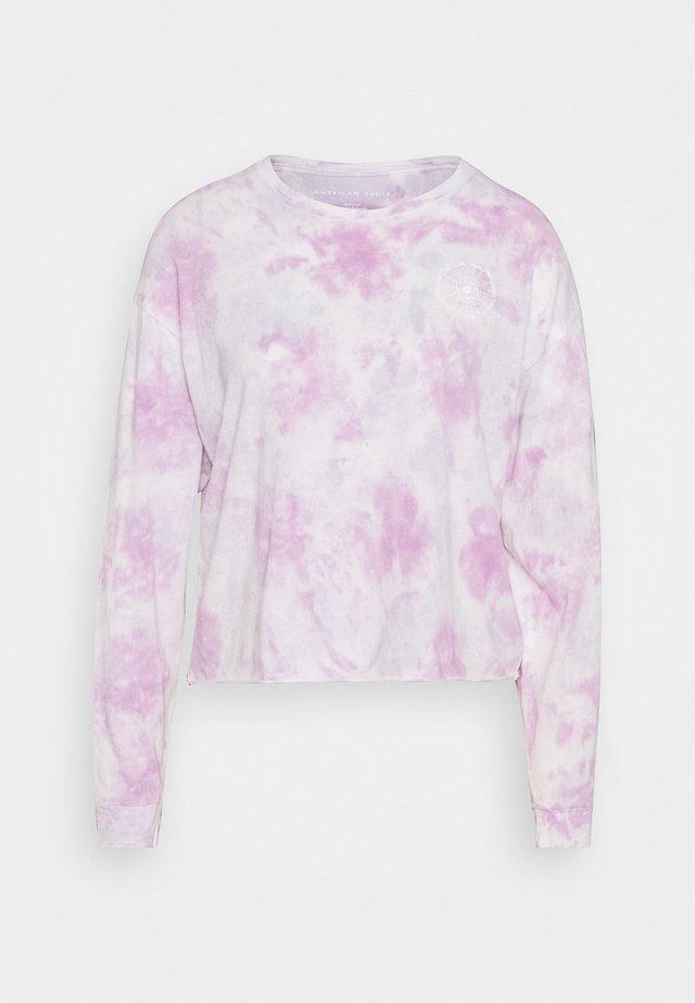 CELESTIAL COVE TEE - Pitkähihainen paita - purple