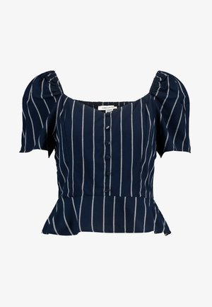 BUTTON UP - Blouse - navy