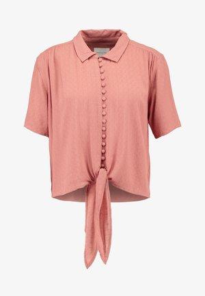 CORE MANY BUTTON - Košile - rust