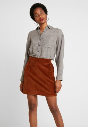 CORE CROPPED PENELOPE - Button-down blouse - gray