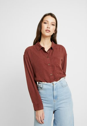 BUTTON DOWN - Koszula - burgundy
