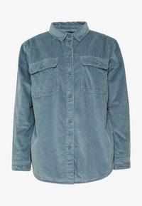 American Eagle - CORE LINED PLUSH - Camisa - blue - 3