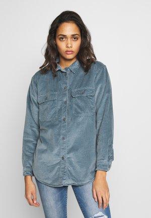 CORE LINED PLUSH - Camicia - blue
