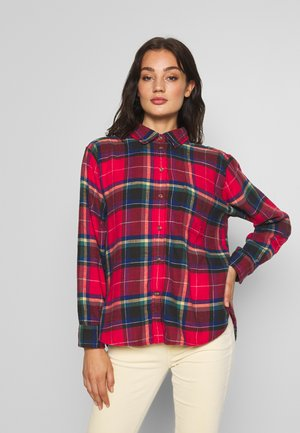 CORE CASUAL PLAID  - Skjortebluser - red beam