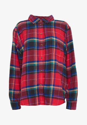 CORE CASUAL PLAID  - Camisa - red beam