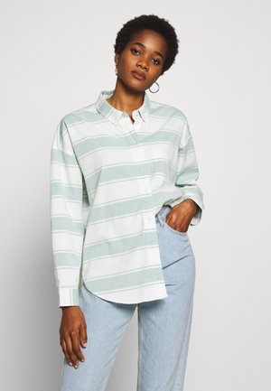 CORE CHINO STRIPE  - Button-down blouse - teal