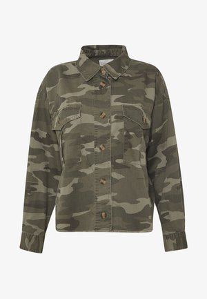 CORE CUTCROP MILTARY SHACKET - Button-down blouse - green