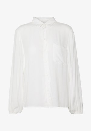 CORE BISHOP SOLID - Button-down blouse - white
