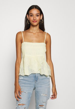 SMOCKED TUBE  - Top - yellow