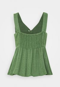 American Eagle - SCOOP NECK - Blouse - olive - 1