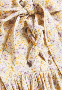 American Eagle - PRINTED LACEUP BABYDOLL - Camicetta - white - 2