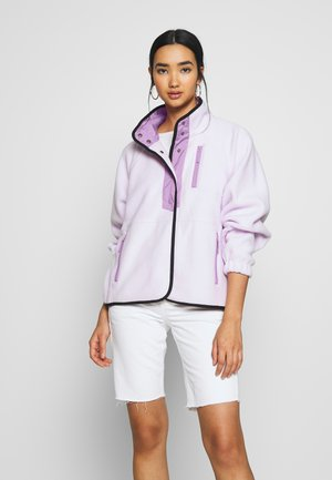 SNAP JACKET - Fleece jacket - lavender