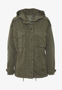 American Eagle - SAFARI JACKET - Lett jakke - olive - 4