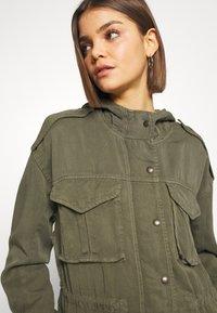 American Eagle - SAFARI JACKET - Lett jakke - olive - 3