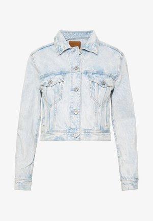 SHRUNKEN CLASSIC JACKET - Giacca di jeans - blue