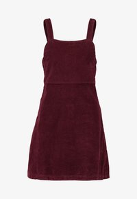 American Eagle - WIDE STRAP MINI - Robe d'été - burgundy - 4