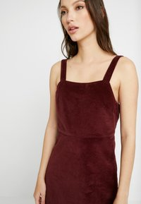 American Eagle - WIDE STRAP MINI - Robe d'été - burgundy - 5