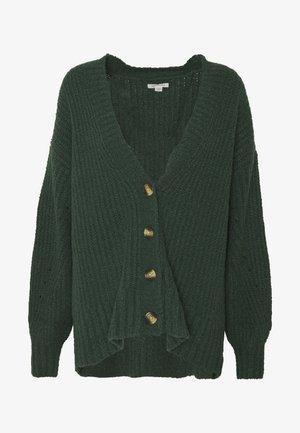 FEMME SHAKER BOYFRIEND - Cardigan - green