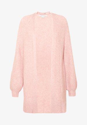 PATTERN TEXTURE MIX - Cardigan - pink