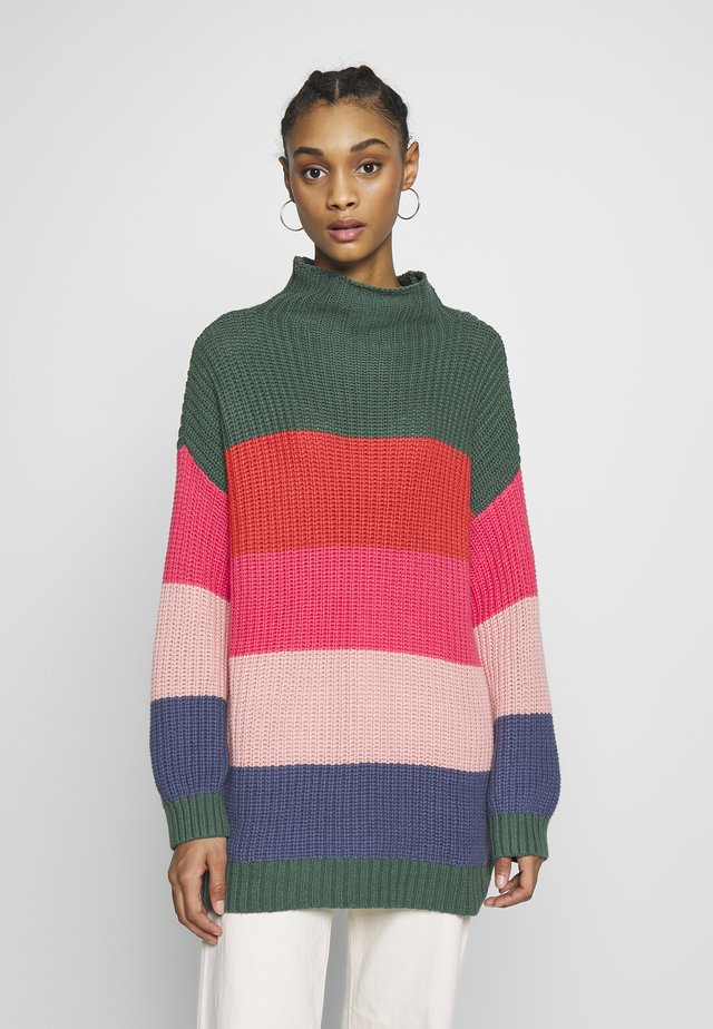 OVERSIZED COLORBLOCK  - Jersey de punto - multi