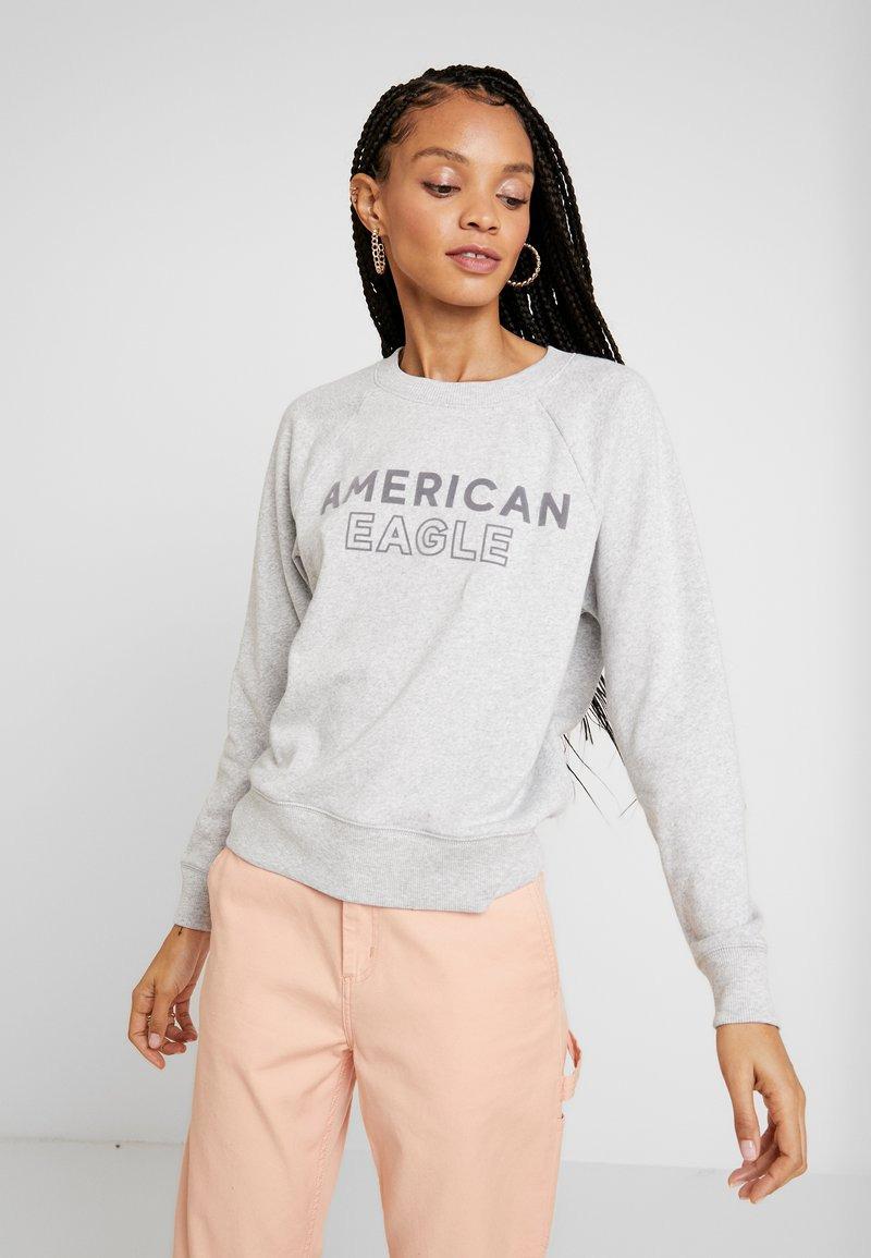 American Eagle - INTERNATIONAL CREW - Sweatshirt - gray