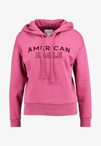 American Eagle - INTERNATIONAL HOODIE - Hoodie - raspberry peak - 4