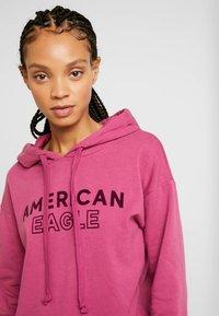 American Eagle - INTERNATIONAL HOODIE - Hoodie - raspberry peak - 3