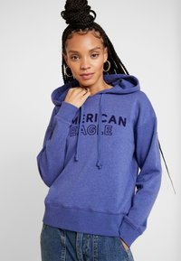 American Eagle - INTERNATIONAL HOODIE - Hoodie - blue - 0