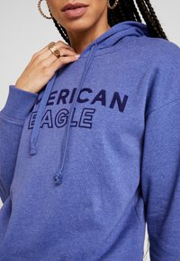 American Eagle - INTERNATIONAL HOODIE - Hoodie - blue - 5