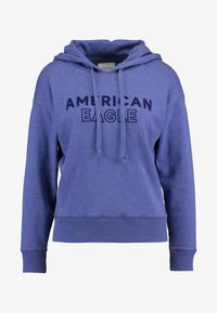 American Eagle - INTERNATIONAL HOODIE - Hoodie - blue - 4