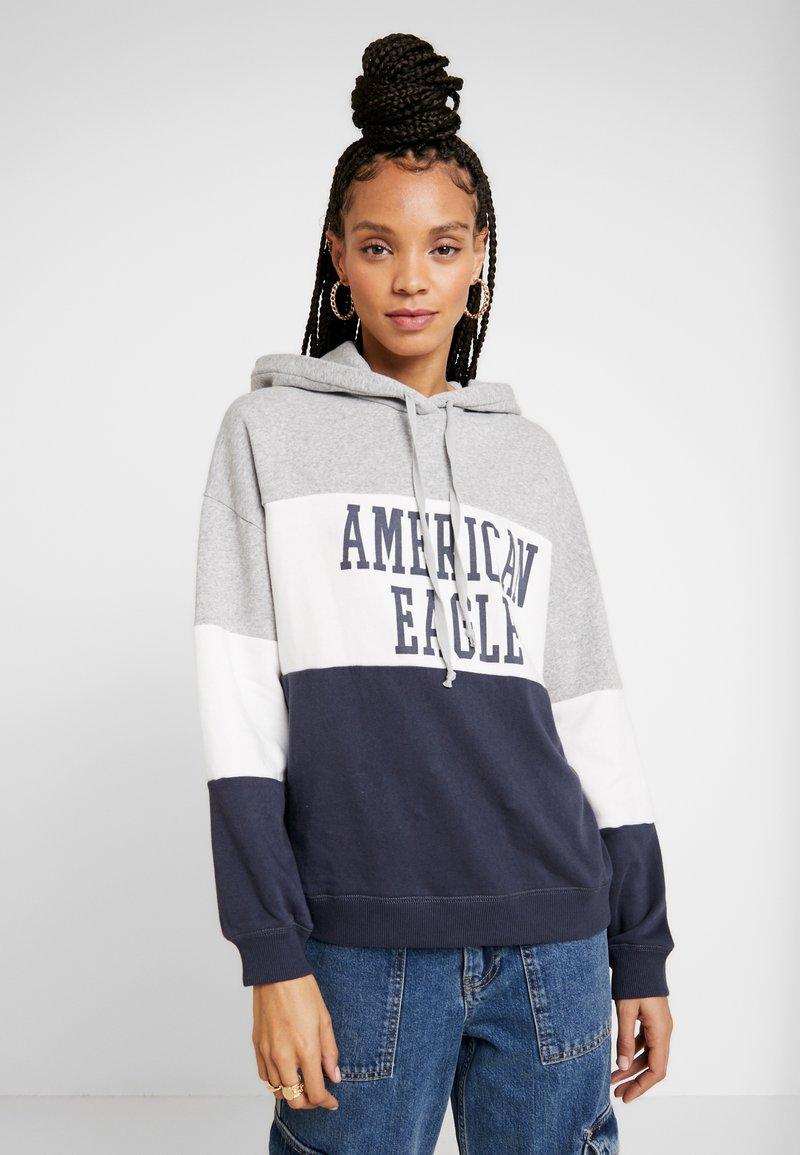 American Eagle - GRAPHIC RAGLAN - Sweatshirt - multi