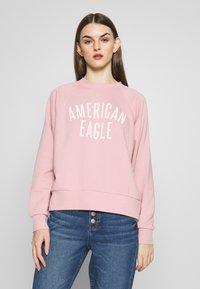 American Eagle - BRANDED CREW - Sweatshirt - pink - 0