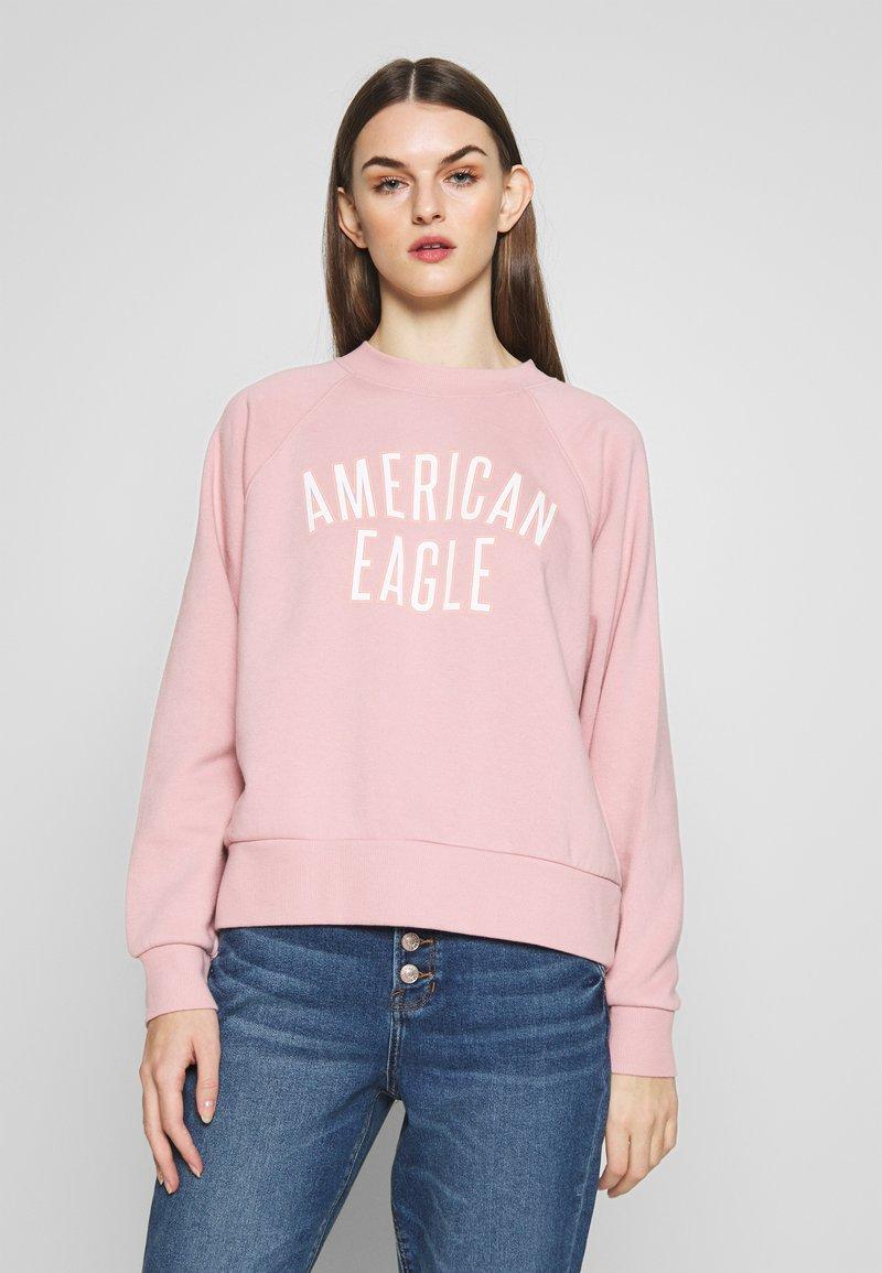 American Eagle - BRANDED CREW - Sweatshirt - pink