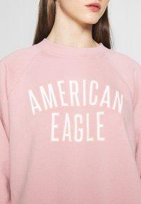 American Eagle - BRANDED CREW - Sweatshirt - pink - 4