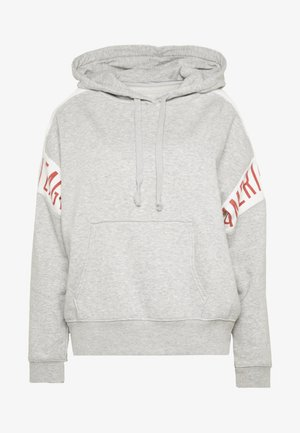 BRANDED HOODIE - Jersey con capucha - gray