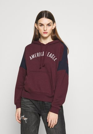 BRANDED HOODIE - Sweat à capuche - burgundy