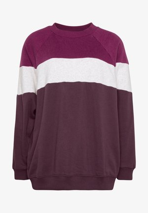 CREW - Sweatshirt - berry