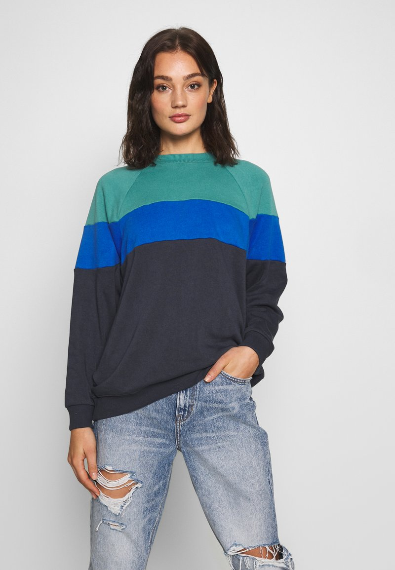 American Eagle - CREW - Sweatshirt - blue