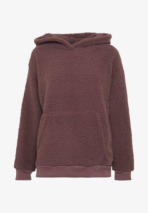 SLOUCHY HOODIE - Sweatshirt - purple