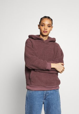 SLOUCHY HOODIE - Sweater - purple
