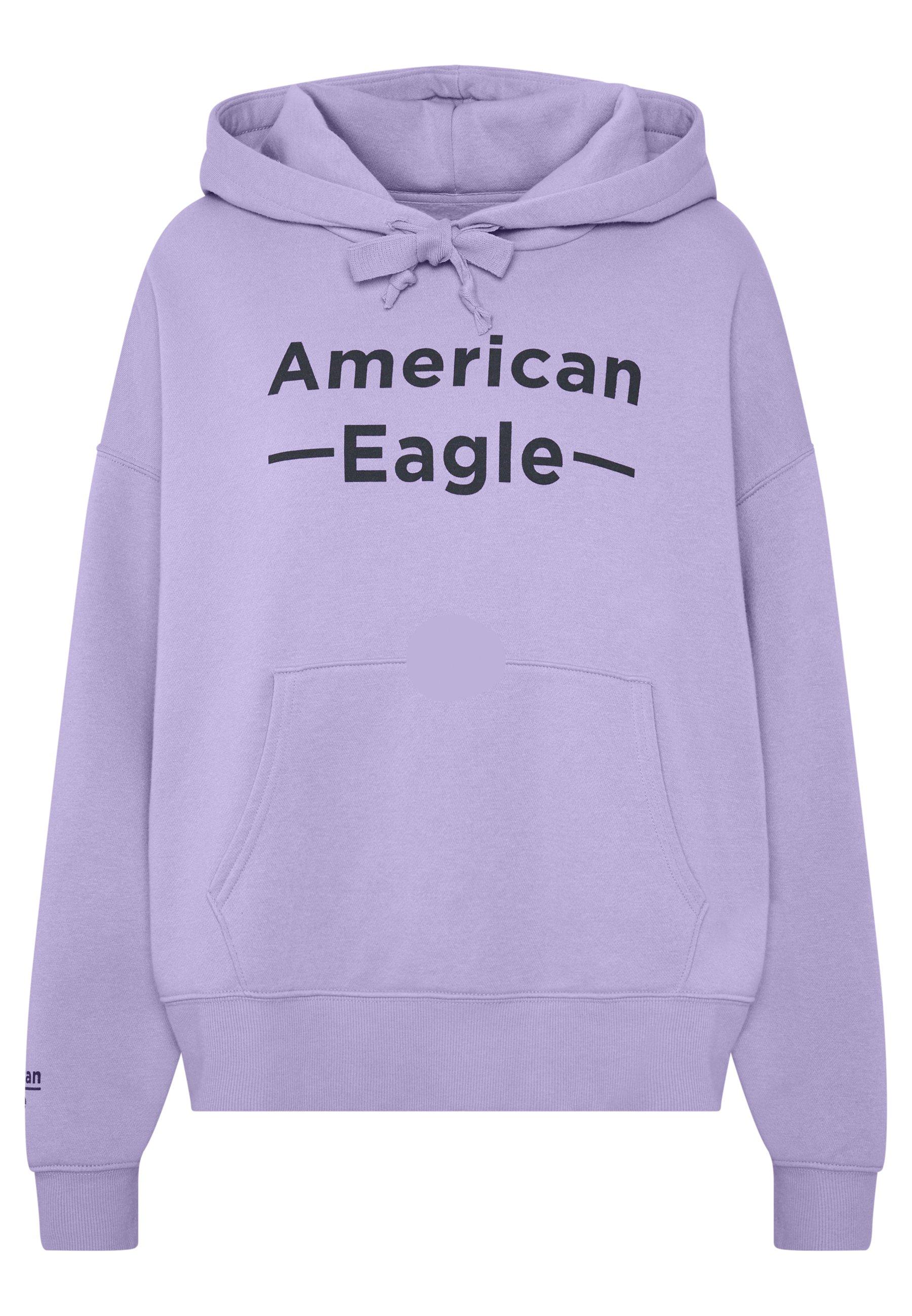 American Eagle Graphics Hoodie - Purple