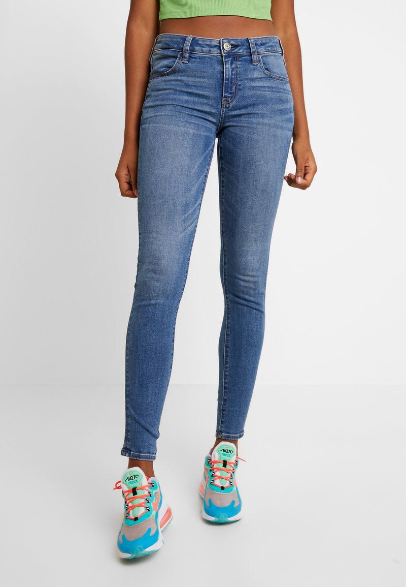 American Eagle - NEXT - Jeans Skinny Fit - starburst blue
