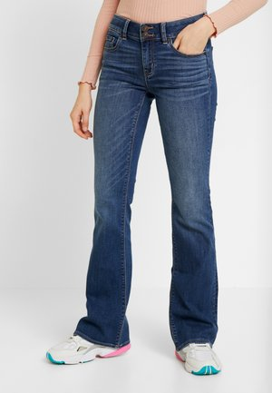 ARTIST FLARE - Flared jeans - empire blue