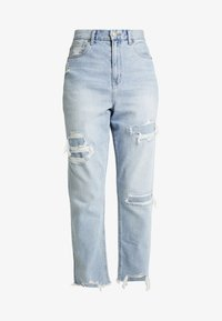 American Eagle - CURVY MOM JEAN - Jeans Relaxed Fit - light repair - 4
