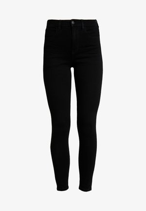 CURVY SUPER HI RISE JEGGING - Jeans Skinny Fit - onyx black